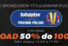 Bonus reload 100 PLN w Totolotku!