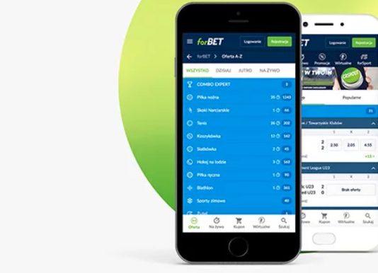 Forbet Mobile w nowej odsłonie. Bonus na dobry początek!